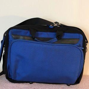 Nine west shoulder bag and  backpack laptop case